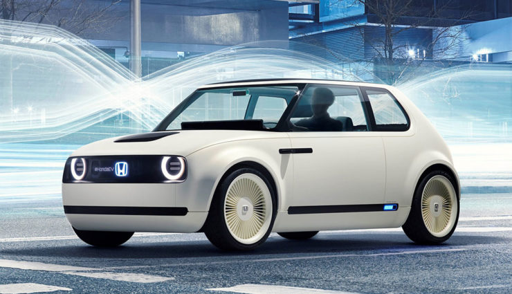 Ab Fruhjahr Erhaltlich Honda Urban Ev Greenfinder De