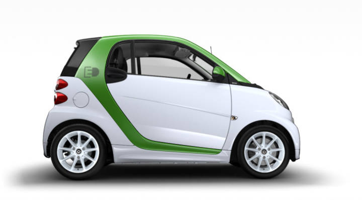 smart - smart fortwo electric drive Coupé