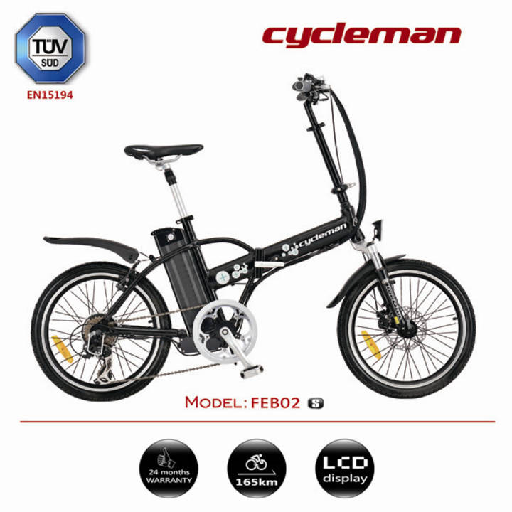 Cycleman - FEB02 576 W