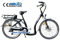 Cemoto - 26´city ebike with alloy frame