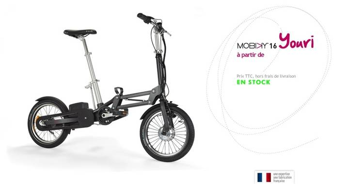 Mobiky - Youri /8-Speed/5,5 Ah/16